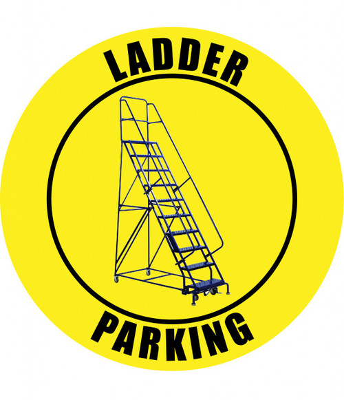 Ladder Parking - Floor Sign (2)