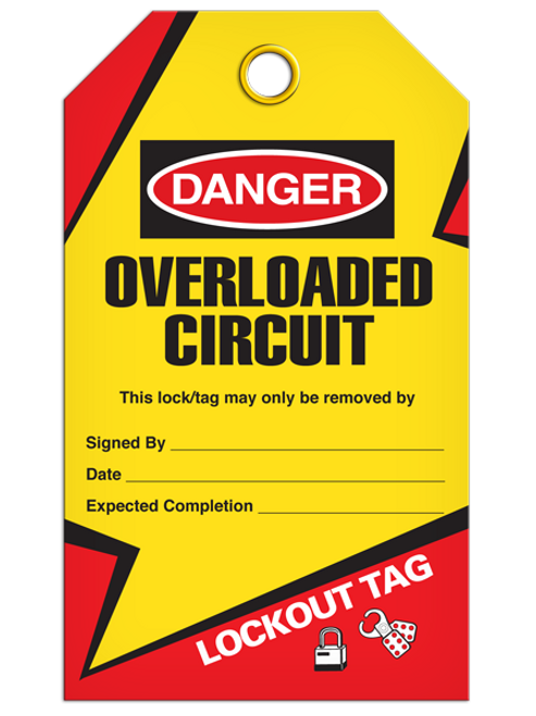 Lockout Overloaded Tags