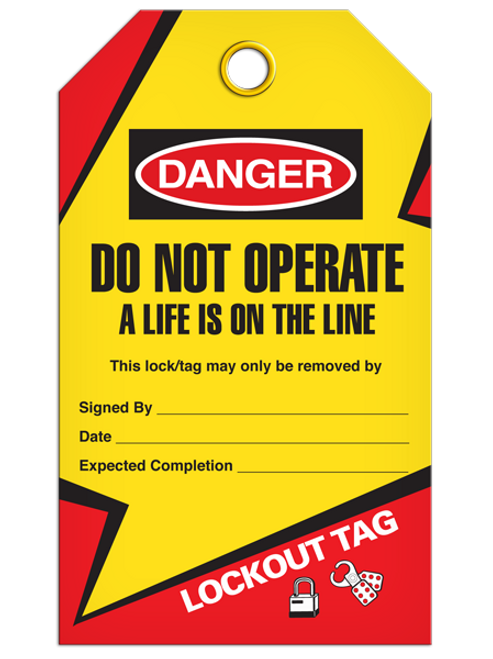 Lockout Life On Line Tags