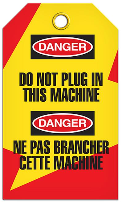 Lockout English/French Machine Tags