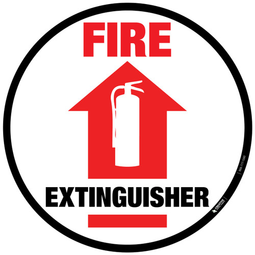 Floor Sign - Fire Extinguisher