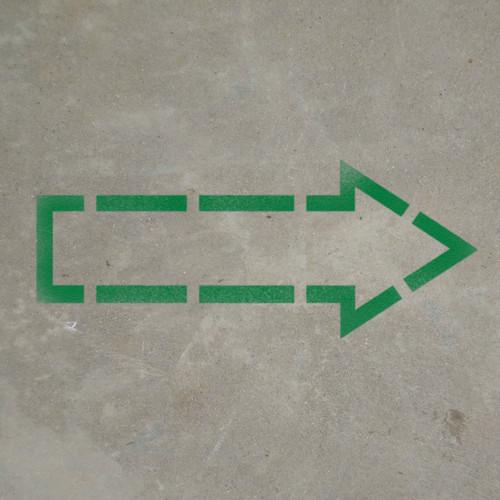 Arrow Outline - Stencil