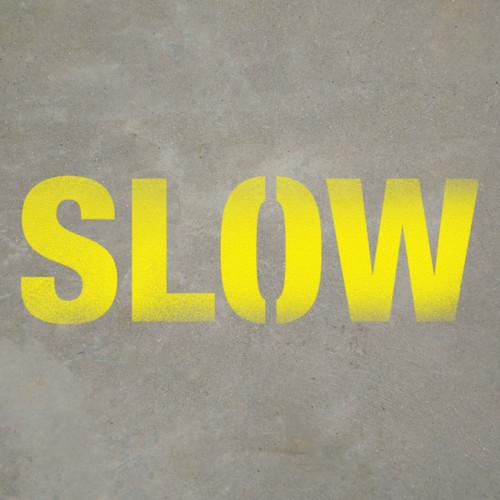 Slow Text - Stencil