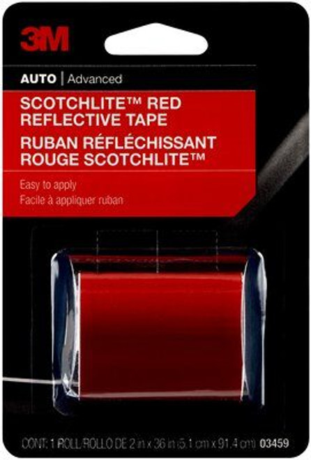 3M™ Scotchlite™ Reflective Tape, 03459, 2 in x 36 in, 24 per case