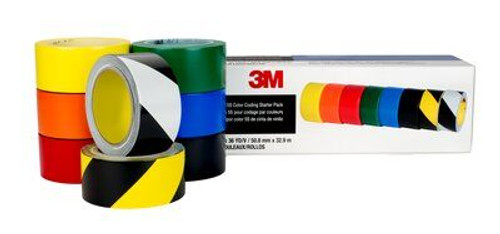 3M™ 471 Vinyl Safety Tape and 5S Color Coding Pack