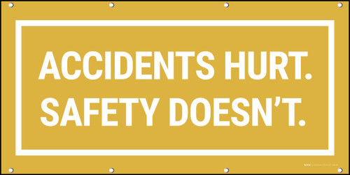 Accidents Hurt Safety Banner