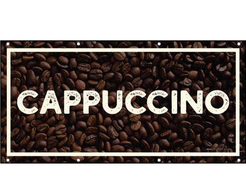 Cappuccino Framed Banner