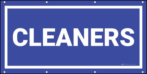 Cleaners Banner (Dark)