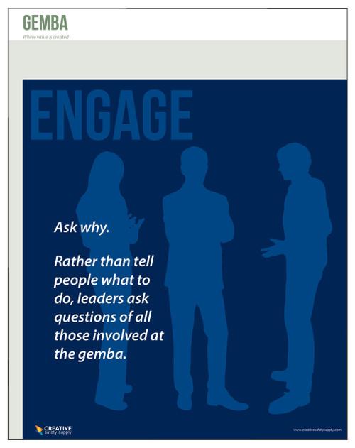 Gemba Poster - Engage