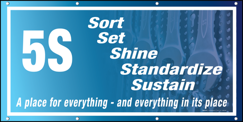 5S Banner Place for Everything