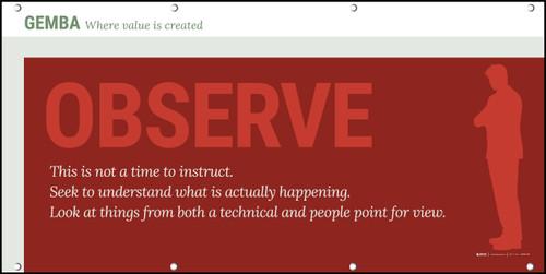 Gemba Observe Banner