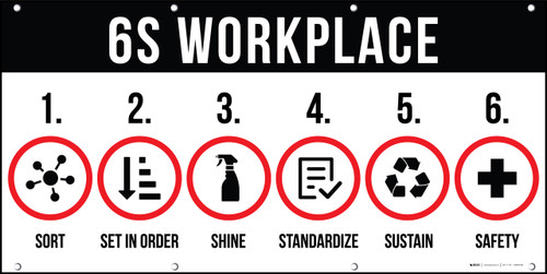 6S Workplace Banner