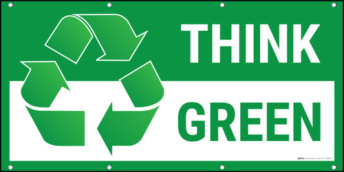 Think Green Recycle Banner