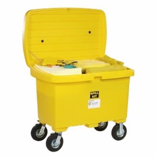SpillTech HazMat Spill Cart Kit with 8in Wheels