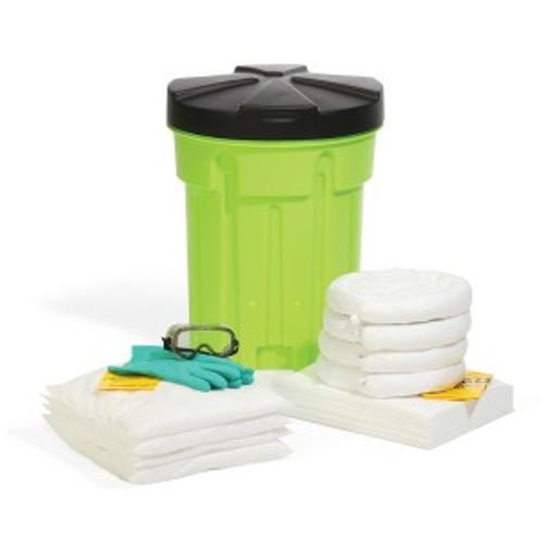SpillTech Oil-Only 30-Gallon Hi-Viz OverPack Drum Spill Kit