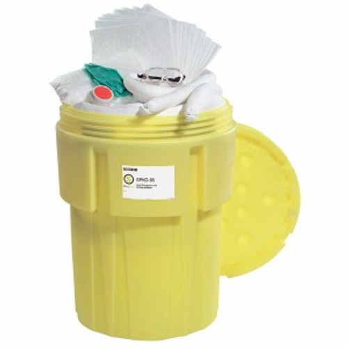 SpillTech Oil-Only 95-Gallon OverPack Salvage Drum Spill Kit