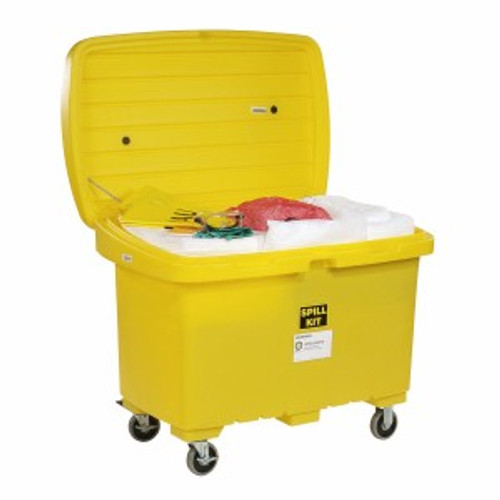 SpillTech Oil-Only Spill Cart Kit with 5in Wheels
