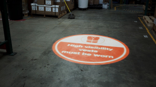 SignCast S300 Virtual Sign - High Visibility Vests Must Be Worn
