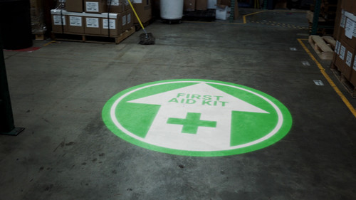 SignCast S300 Virtual Sign - First Aid Kit