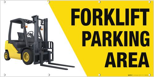Forklift Parking Banner