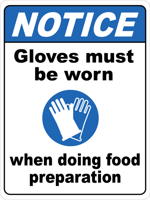 photo about Free Printable Food Safety Signs named Foods Basic safety Signs and symptoms - Resourceful Protection Give
