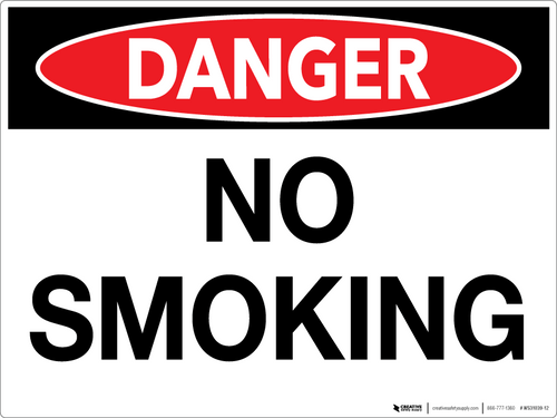 No Smoking Signs | Creative Safety Supply