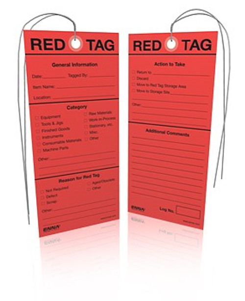 5S Red Tags