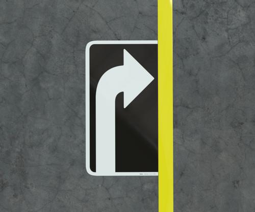 Right Turn Arrow  - Floor Marking Sign