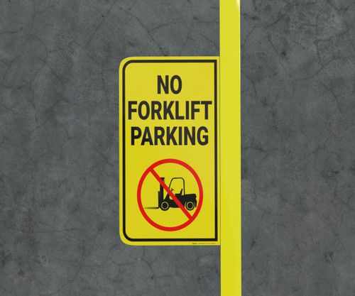 No Forklift Parking - Floor Marking Sign