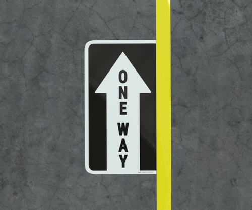 One Way Arrow - Floor Marking Sign