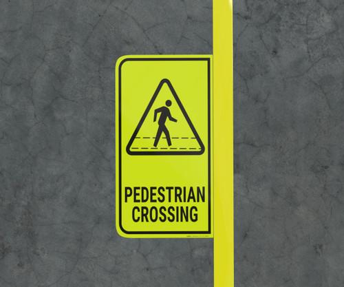 Pedestrian Crossing - Floor Marking Sign