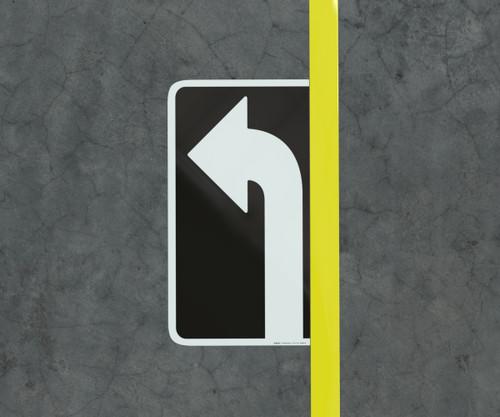 Left Turn Arrow - Floor Marking Sign