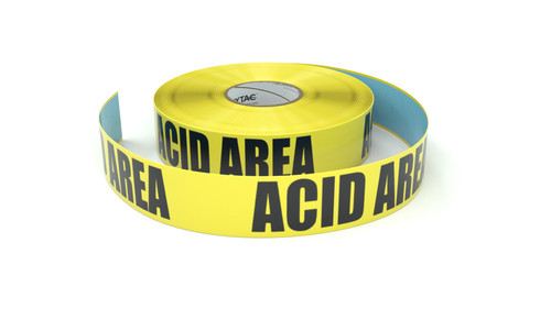 Acid Area - Inline Printed Floor Marking Tape