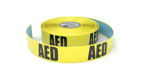 AED - Inline Printed Floor Marking Tape