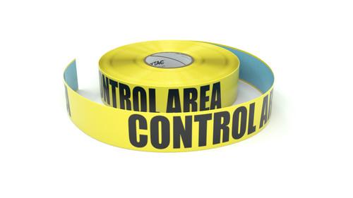 Control Area - Inline Printed Floor Marking Tape