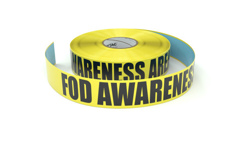 FOD Awareness Area - Inline Printed Floor Marking Tape