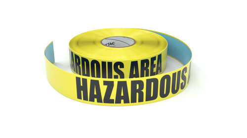 Hazardous Area - Keep Out - Inline Printed Floor Marking Tape