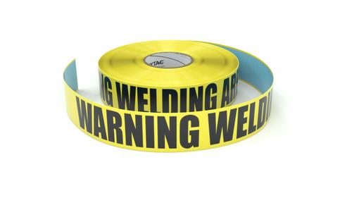 Warning Welding Area - Inline Printed Floor Marking Tape