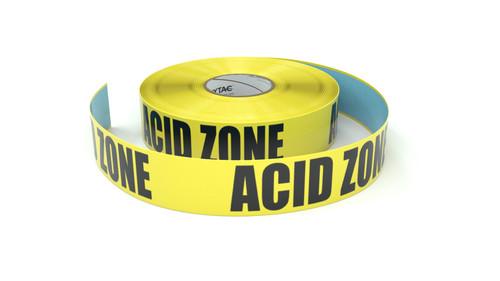 Acid Zone - Inline Printed Floor Marking Tape