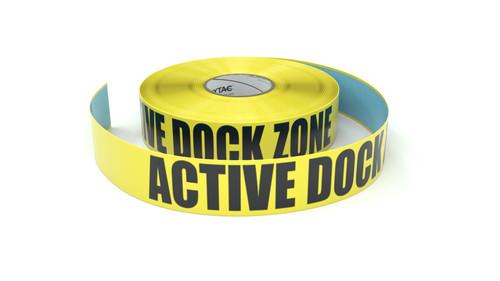 Active Dock Zone - Inline Printed Floor Marking Tape