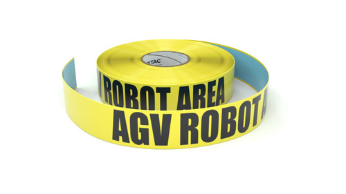 AGV Robot Area - Inline Printed Floor Marking Tape
