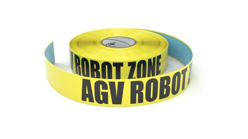 AGV Robot Zone - Inline Printed Floor Marking Tape
