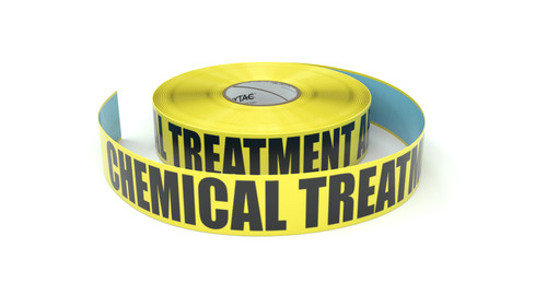 Chemical Treatment Area - Inline Printed Floor Marking Tape
