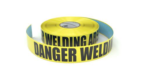 Danger Welding Area - Inline Printed Floor Marking Tape