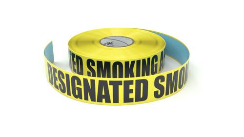 Designated Smoking Area - Inline Printed Floor Marking Tape