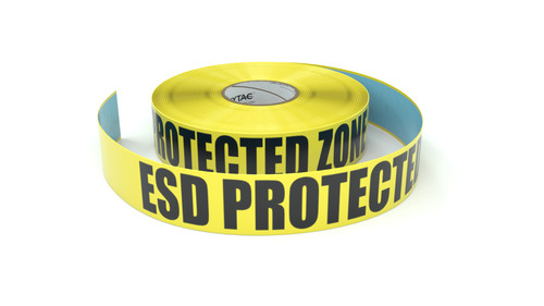 ESD Protected Zone - Inline Printed Floor Marking Tape