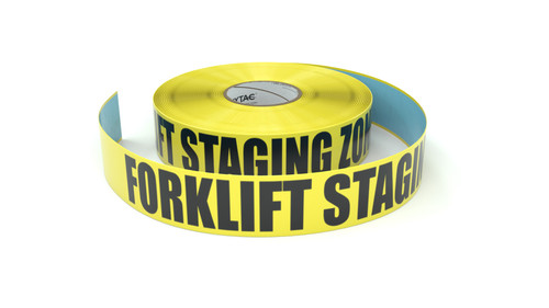 Forklift Staging Zone - Inline Printed Floor Marking Tape