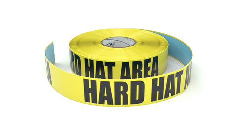Hard Hat Area - Inline Printed Floor Marking Tape