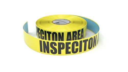 Inspeciton Area - Inline Printed Floor Marking Tape