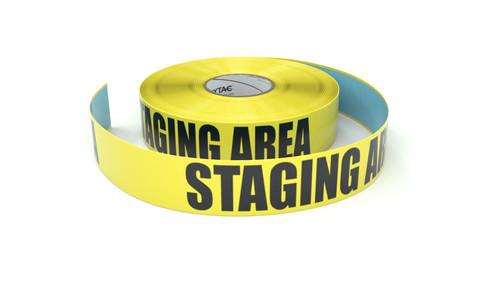 Staging Area - Inline Printed Floor Marking Tape